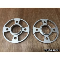 Nissan 4x100 15mm Hubcentric wheel spacers